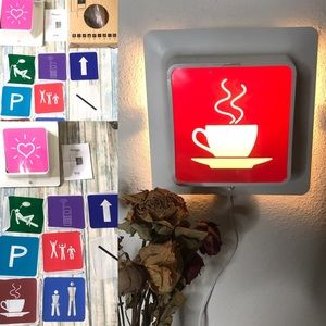 Other - Skugga ikea light up sign with 10 interchangeable
